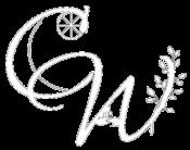 Crone Walks logo wit